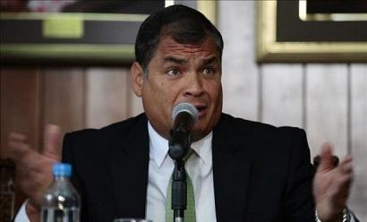 Correa propone crear corte ambiental en Conferencia de Desarrollo en Quito