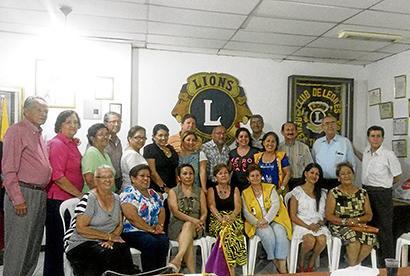 Club de Leones  recibe charlas  de ética y trabajo