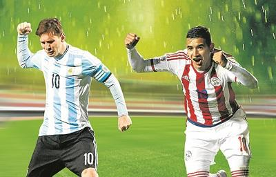 Argentina vs Paraguay, un duelo a 'muerte' para llegar a la final