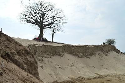 El negocio de arena perjudica a vecinos