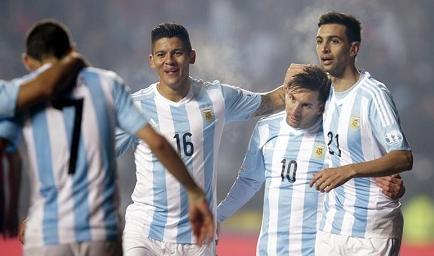 ¡GOLEADA! Argentina vence 6-1 a Paraguay y se enfrentará a Chile en la final de Copa América