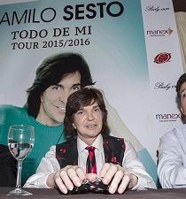 Camilo Sesto retoma en octubre su última gira latinoamericana