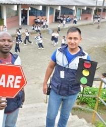 Empresa municipal capacita a niños en temas de educación vial
