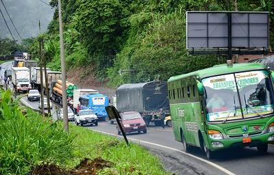 Horarios de restricción vehicular en las vías que comunican a Guayaquil con Quito