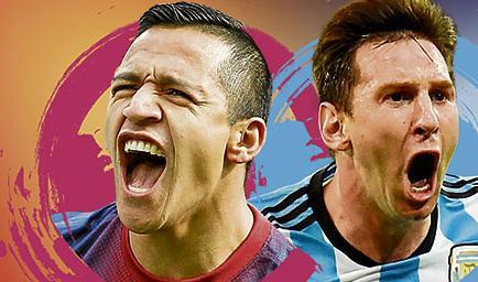 Copa América: Chile vs. Argentina, una final con sed de gloria