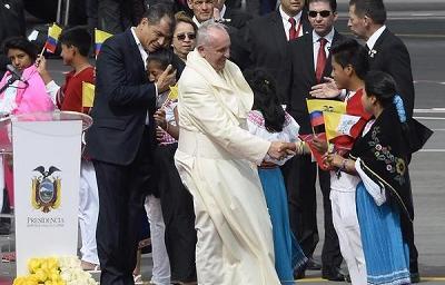 Papa Francisco: Comienzo con ilusión y esperanza los días que tenemos por delante