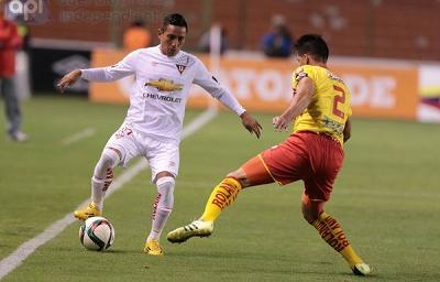 Liga de Quito amplía invicto y sigue en lo alto para ganar la primera etapa