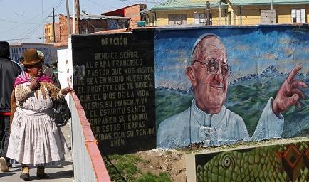 El papa ya viajó a Ecuador, primera etapa de su periplo por América Latina