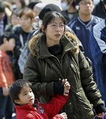 Solo el 23 % de los hogares japoneses cuenta con niños
