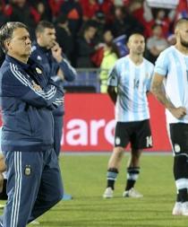 La selección argentina regresó a Buenos Aires sumida en el silencio