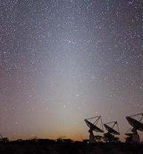 Detectan una señal de una galaxia emitida hace 5 mil millones de años