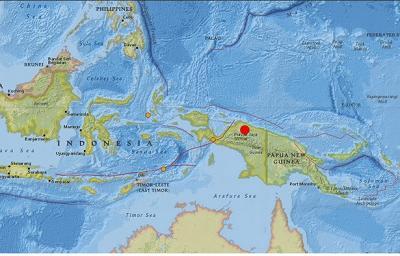 Un terremoto de siete grados de magnitud sacude Indonesia