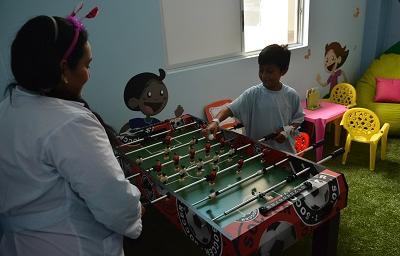 Inauguran sala lúdica en Pediatría