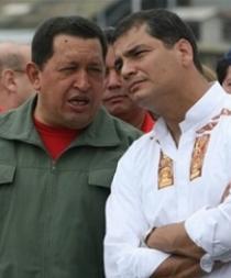 Rafael Correa recuerda a Chávez en su natalicio