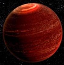 Observan por primera vez auroras boreales fuera del Sistema Solar
