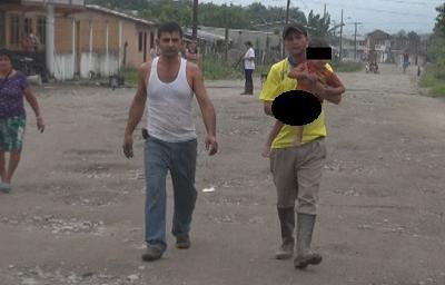 36 horas pasó desaparecido un menor de dos años en Santa María del Toachi