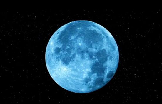 Hoy habr una luna azul algo que sucede cada tres a os for Que dia lunar es hoy