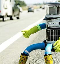 Robot viajero 'muere' en Filadelfia a mano de vándalos
