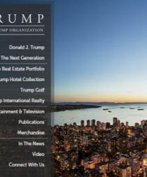 Hackers utilizan la web de Donald Trump para saludar a humorista