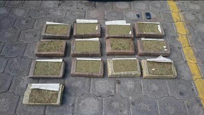 1,81 toneladas de droga fueron incautadas la semana pasada