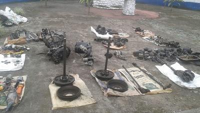Detienen a dos personas por el presunto delito de receptación en Santo Domingo
