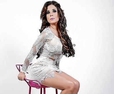 Sofía Caiche disfruta el papel de 'fea'