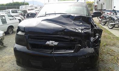 Iba a rezar pero un carro la mató