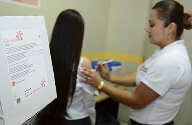 4.783 niñas han sido vacunadas contra el papiloma humano