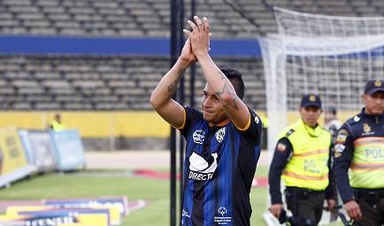Independiente gana 1-0 a Emelec en el Rumiñahui