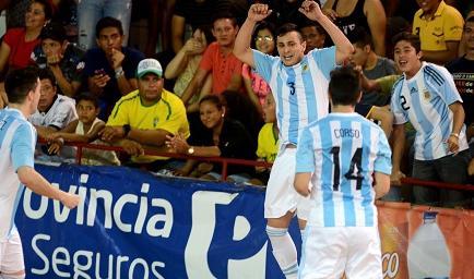 Argentina, campeón de la Copa América de Fútsal