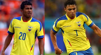 Joao Rojas reemplaza a Montero en amistoso de Ecuador ante Honduras