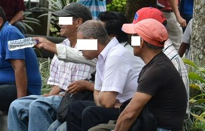 Libadores se toman el parque Zaracay de Santo Domingo