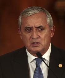 Autorizan orden de captura contra presidente de Guatemala, Otto Pérez Molina