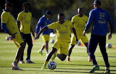 La Selección de Ecuador ascendió dos posiciones en el ránking FIFA