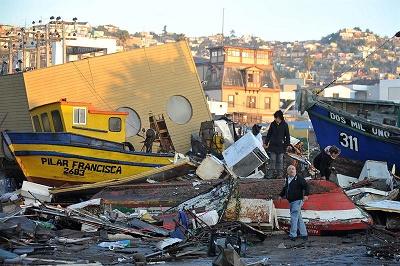 Aumentan a once los muertos por terremoto en Chile, que deja 610 damnificados