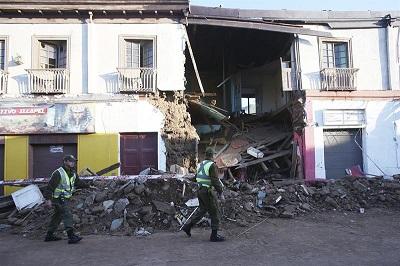El Gobierno de Ecuador expresa su solidaridad con Chile tras sismo