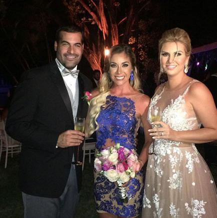 Carolina Jaume se casó con su prometido Allan Zenck el sábado pasado