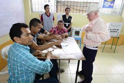 Jornada electoral en El Descanso y Santa Teresa se dio sin incidentes