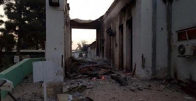 EE.UU. bombardea un hospital y mata a 9 Médicos Sin Fronteras