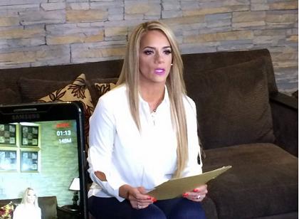 Gabriela Pazmiño está dolida por su despido intempestivo (VIDEO)