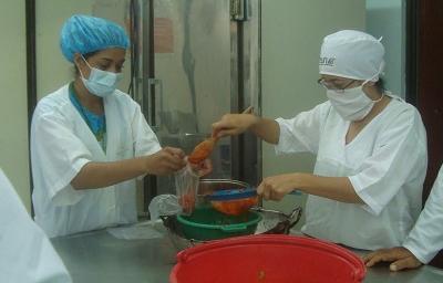 Curso de manipulación de alimentos se realizará en la UE Santo Domingo