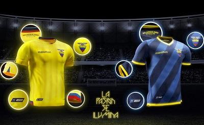 Esta es la nueva camiseta que vestirá Ecuador en las Eliminatorias