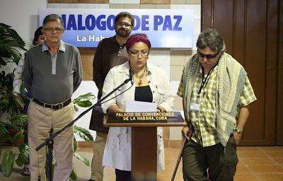 FARC propone crear un