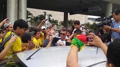 Damián Díaz ya llegó a Ecuador para sumarse a Barcelona SC