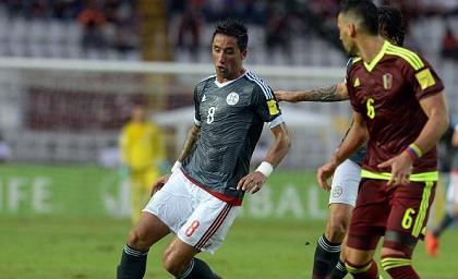 Paraguay venció 1-0 a Venezuela con gol de Derlis González