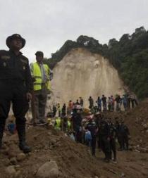 Sube a 253 los muertos y a 374 los desaparecidos por alud en Guatemala
