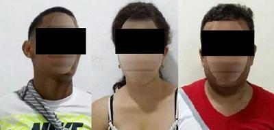 Prisión preventiva para tres personas acusadas por supuesto delito de extorsión