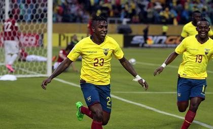 Ecuador venció 2-0 a Bolivia con goles de Miller y Felipao