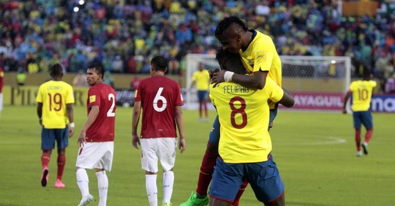 Con goles de Bolaños y Caicedo, Ecuador celebra su segunda victoria