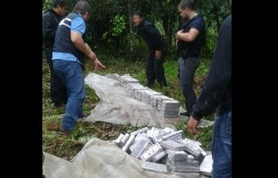 Nueve detenidos y 217 kilos de cocaína decomisados en operativo